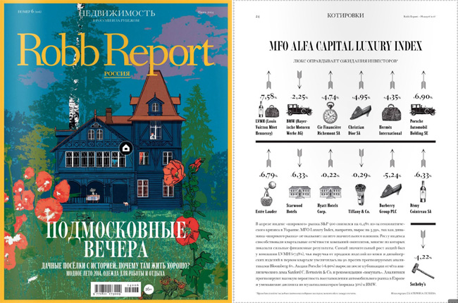 Robb Report Luxury Index – июнь 2014